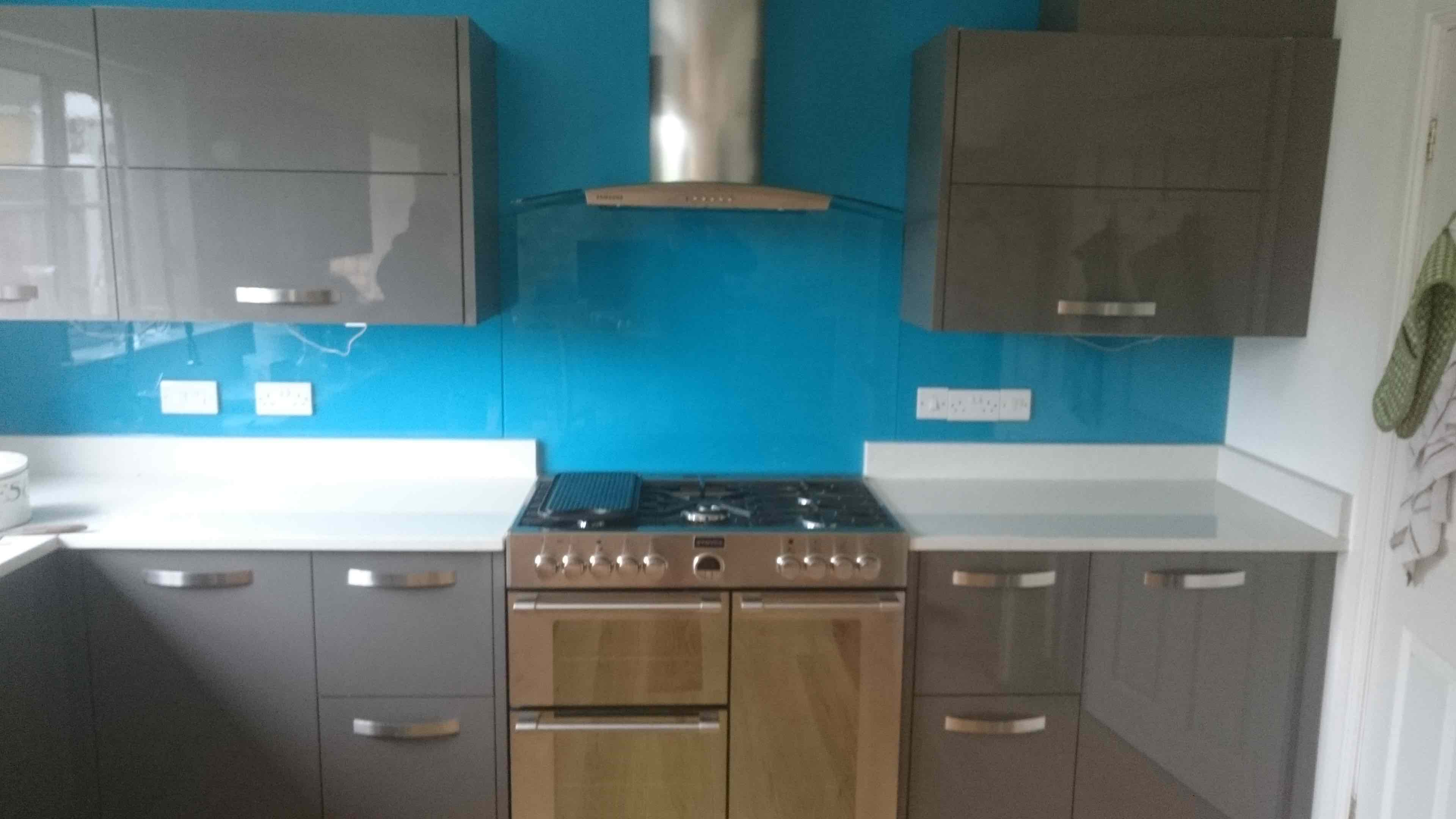 Coloured & Toughened Glass Splashbacks Keighley