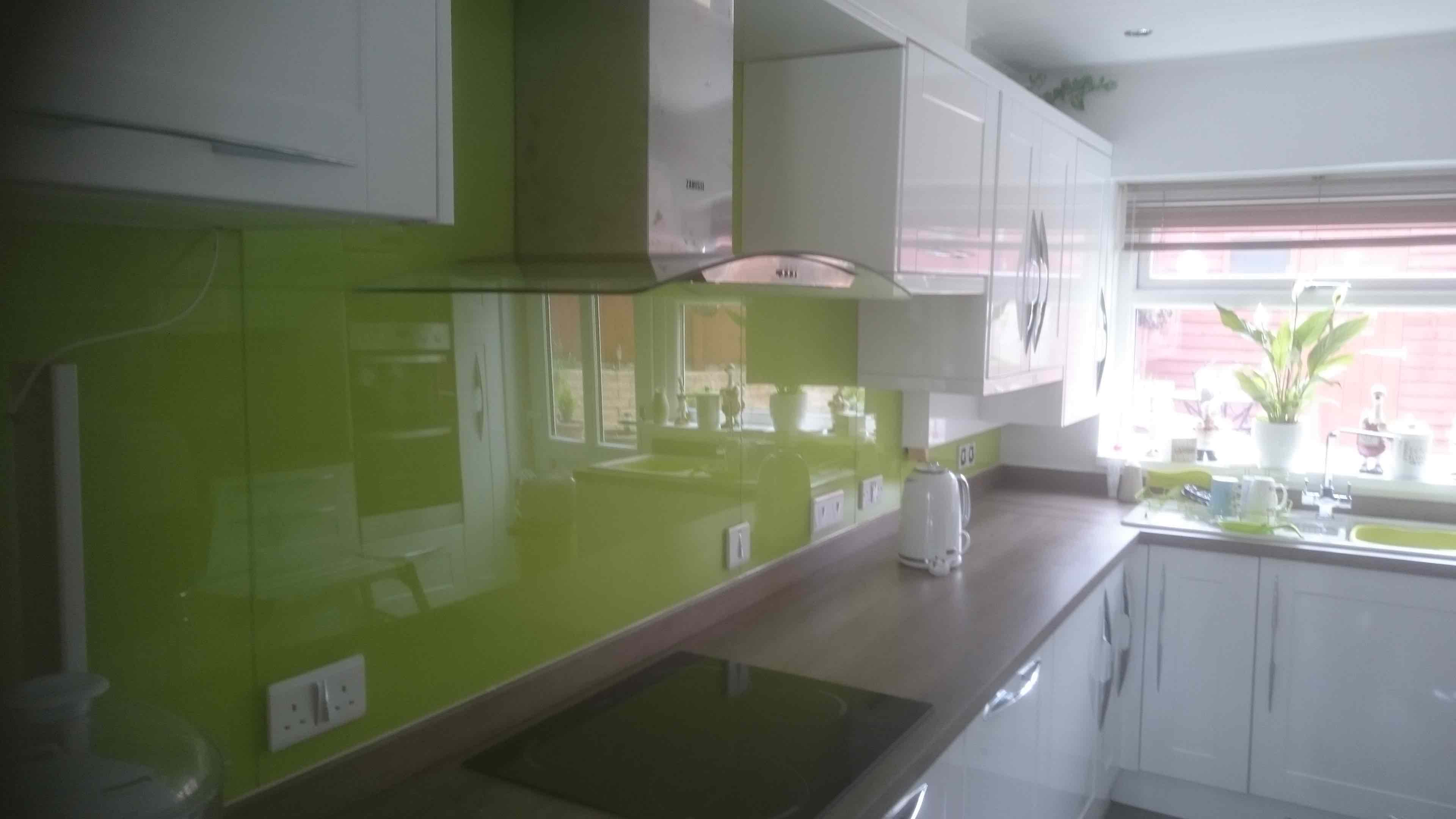 Coloured Amp Toughened Glass Splashbacks Keighley