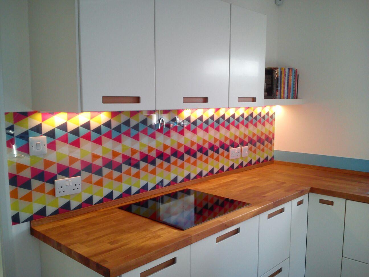 Coloured Amp Toughened Glass Splashbacks Keighley