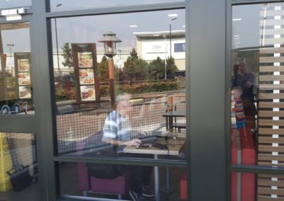 Shop front installed by S & T gallery